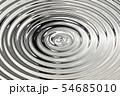 Light shining on silver oil ripple, abstract 54685010