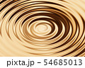 Blurred bronze water ring with liquid ripple, 54685013