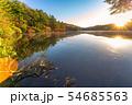 秋の白駒の池 朝焼け 【長野県】 54685563