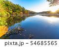 秋の白駒の池 朝焼け 【長野県】 54685565