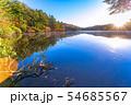 秋の白駒の池 朝焼け 【長野県】 54685567