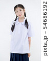 Portrait of Lovely Asian girl in school uniform 54686192