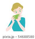 女性 スマホ 携帯 54688580