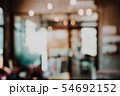 Abstract blur interior cafe for background. 54692152
