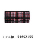 Red wallet on white background. 54692155