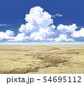 青空と入道雲と荒野02_09 54695112