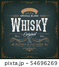 Vintage Whisky Label For Bottle 54696269