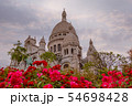 Evening Sacre Coeur Cathedral 54698428