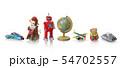 ブリキのおもちゃ 54702557