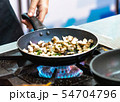 chef cooking 54704796