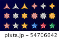 multipoint star icon set 54706642