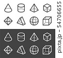 transparent geometric line icon 54706655