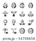 eco energy icon set 54706656