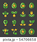 eco energy icon set 54706658