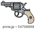 The steel short revolver 54708898