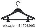 The black plastic hanger 54708903