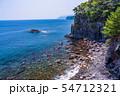 【静岡県】東伊豆城ヶ崎海岸 橋立吊橋からの眺め 54712321
