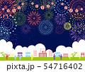 祭り 花火 54716402