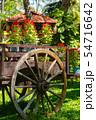Old Wooden Wheel Decor 54716642