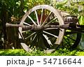 Old Wooden Wheel Decor 54716644