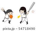 野球選手の男性 54718490