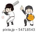 野球選手の男性 54718543