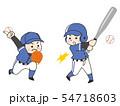 野球選手の男性 54718603