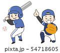 野球選手の男性 54718605