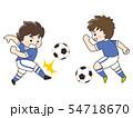 サッカー選手の男性 54718670