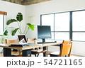 オフィス ビジネス パソコン ノートパソコン シェアオフィス フリーランス 個人事務所 54721165