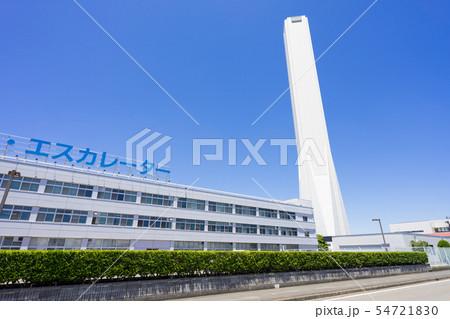 稲沢市 三菱エレベーター・エスカレーター 三菱電機稲沢製作所  エレベーター試験棟 54721830