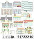 街の建物 54722240