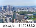 東京風景 2019 春 新緑 青空 六本木から望む新国立競技場方面 54723332