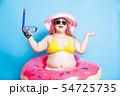 fat asian girl in summer 54725735