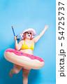 fat asian girl in summer 54725737