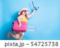 fat asian girl in summer 54725738
