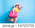 fat asian girl in summer 54725739