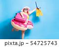fat asian girl in summer 54725743