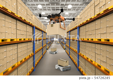 Automatic warehouse concept 54726285