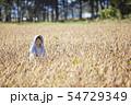 農家の女性 54729349