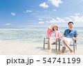 海外旅行イメージ ビーチ 海 人物 54741199