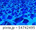 抽象的な背景 三角形  54742495