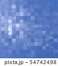 青空を反射した四角いパネル 54742498