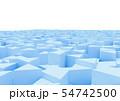 抽象的なボックスの背景 54742500