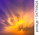sky and clouds nature background 54750626