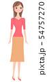 笑顔の女性 54757270