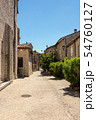 The medieval village of Ruoms in the Ardeche 54760127