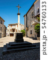 The medieval village of Ruoms in the Ardeche 54760133