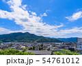 夏の上山市街 俯瞰 山形上山 54761012