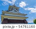 夏の日の「上山城」 山形上山 54761160